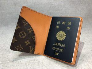 リメイクパスポートケース